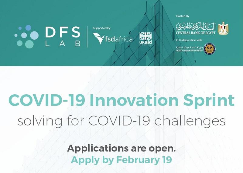 DFS Lab's COVID-19 Innovation Sprint for Egypt 2021