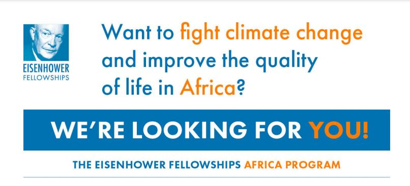 Eisenhower Fellowships (EF) 2021 Africa Program for Regional Leaders Fighting Climate Change