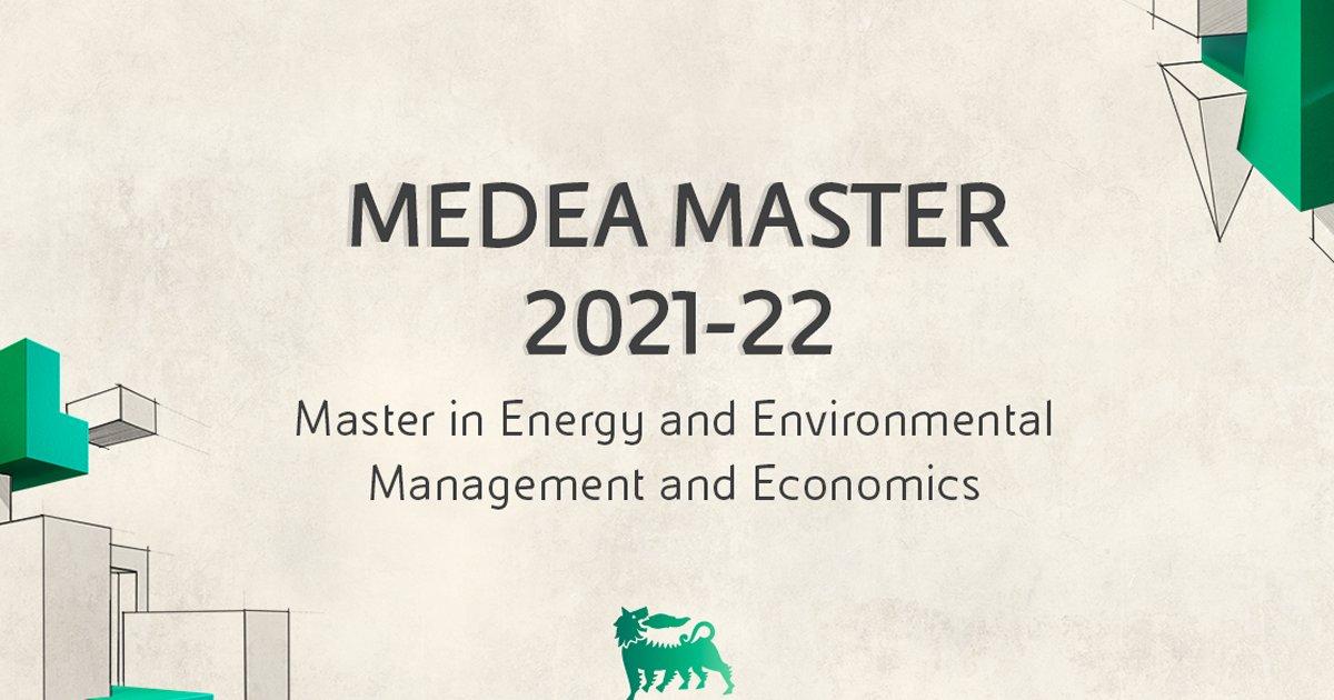 Eni/University of Pavia MEDEA Master Programme 2021-2022 (€25,000 Scholarship)