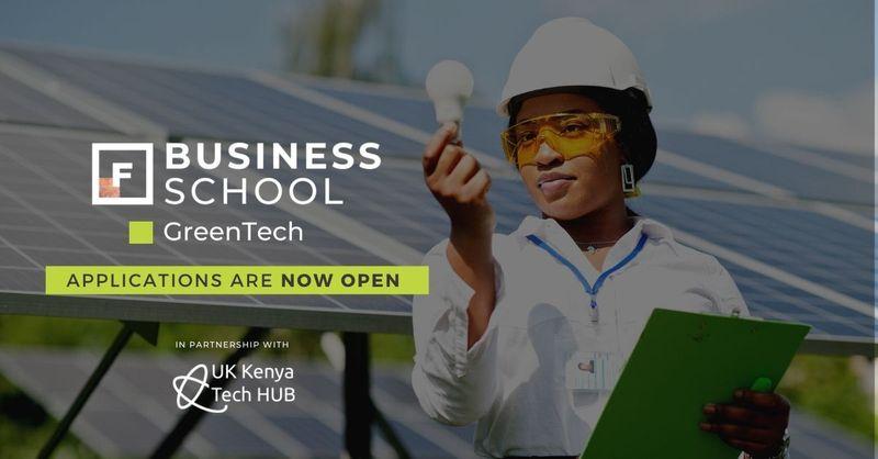 Future Females Business School Greentech Programme 2021 for Female Kenyan Entrepreneurs