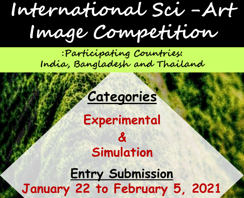 Call for Entries: International Sci Art Image Competition 2021