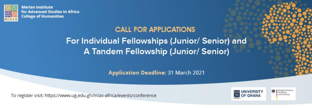 MIASA German – African Tandem Fellowship 2022 at the University of Ghana
