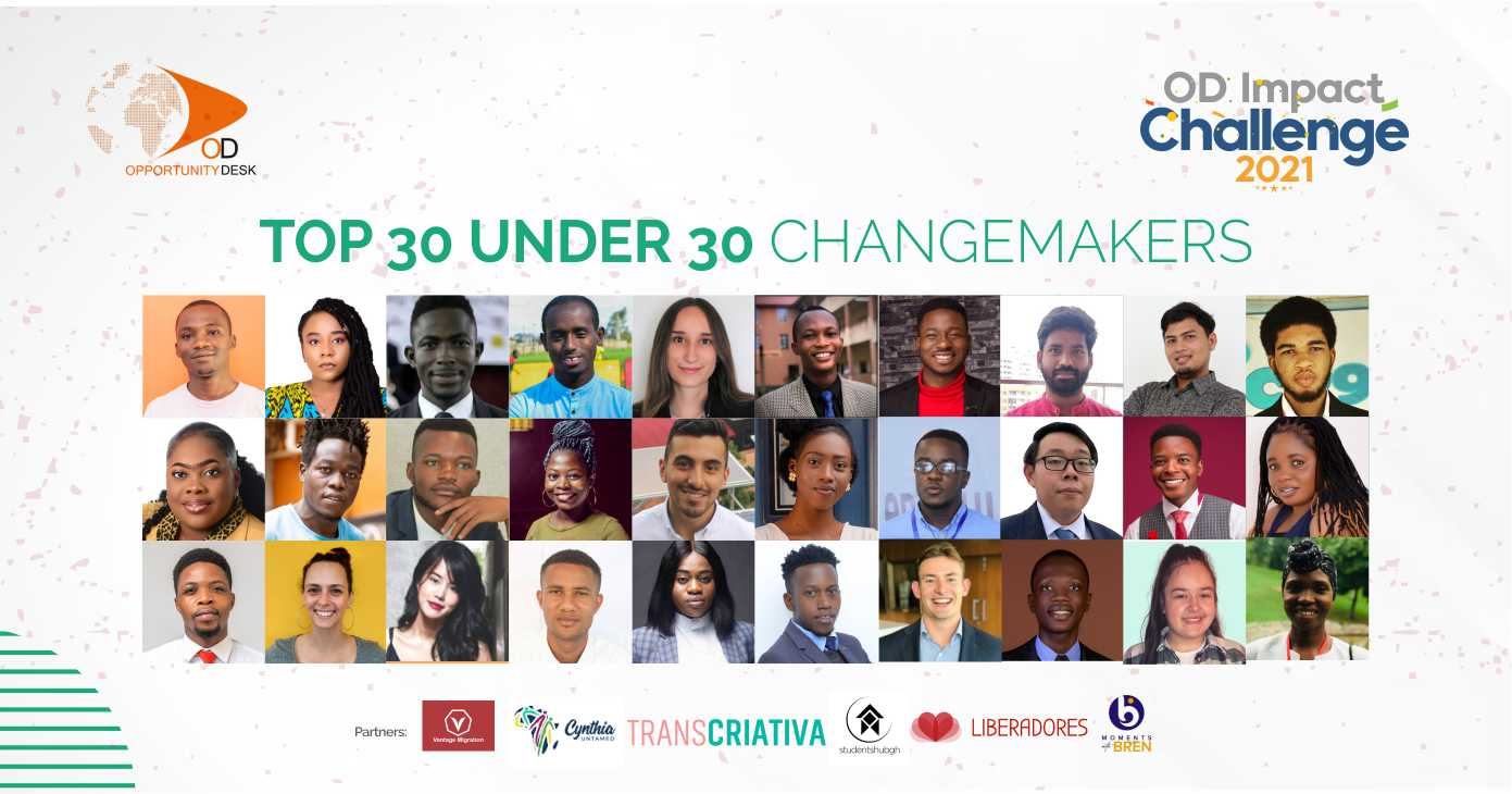Announcing the 2nd Class of OD Impact Challenge 30 Under 30 Changemakers!