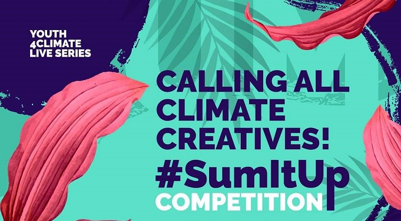 SumItUp Competition 2021 for Young Climate Champions & Creatives (Win trip to Milan)
