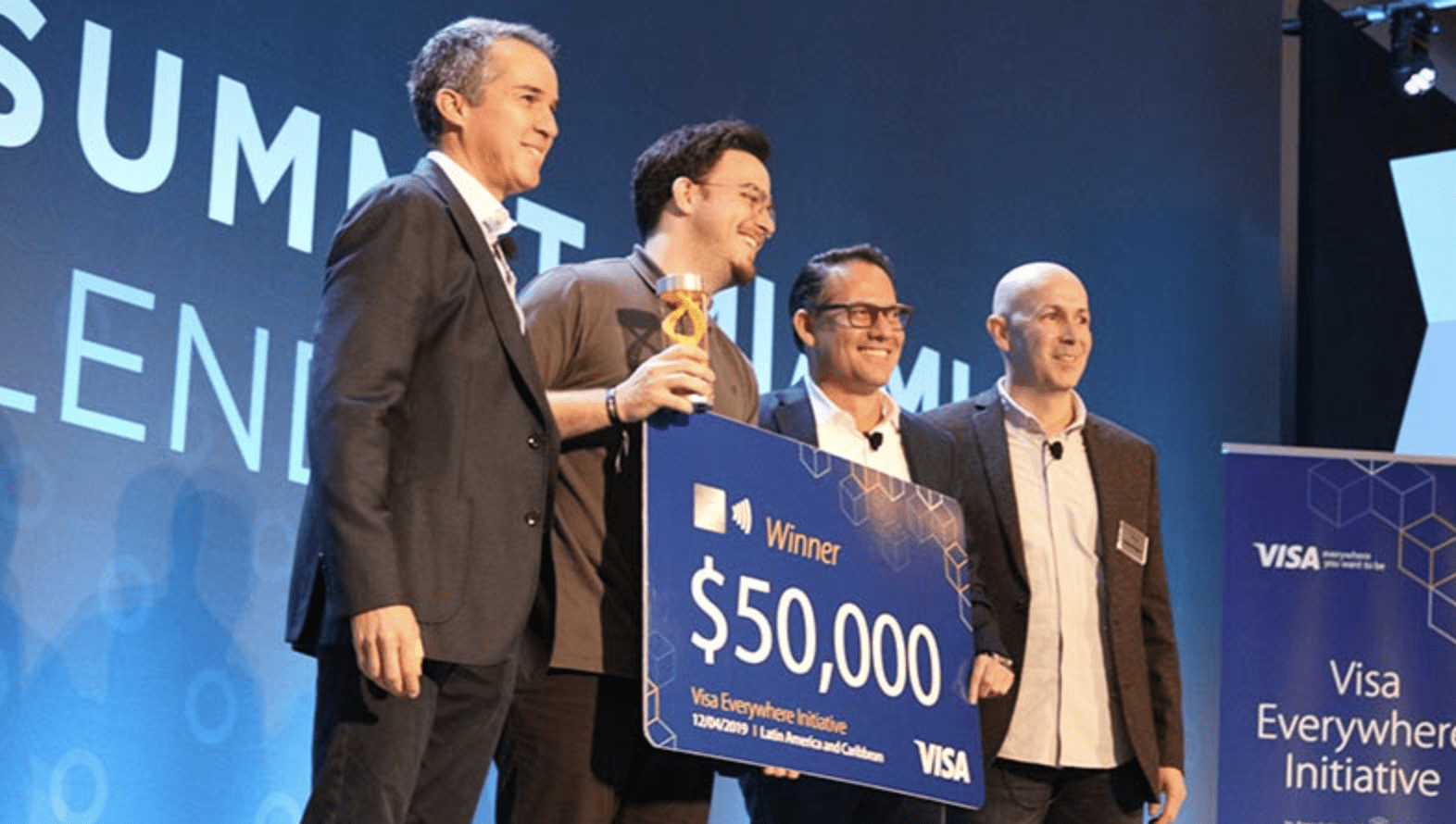 Visa Everywhere Initiative Global Innovation Competition 2021 (Up to $100,000 USD)