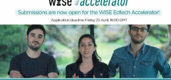 WISE Edtech Accelerator Programme 2021 for Innovative Ventures