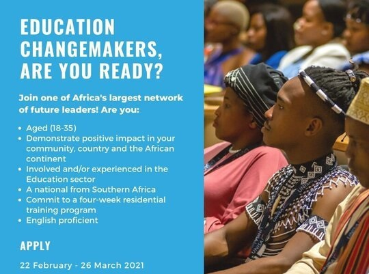 YALI RLC-SA/Trevor Noah Foundation Education Changemakers Programme 2021 [Cohort 2]