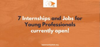 7 Internships and Jobs for Young Professionals – March 2021