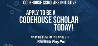 CodeHouse Scholars Initiative (CHSI) 2021 for Students of Colour in the U.S