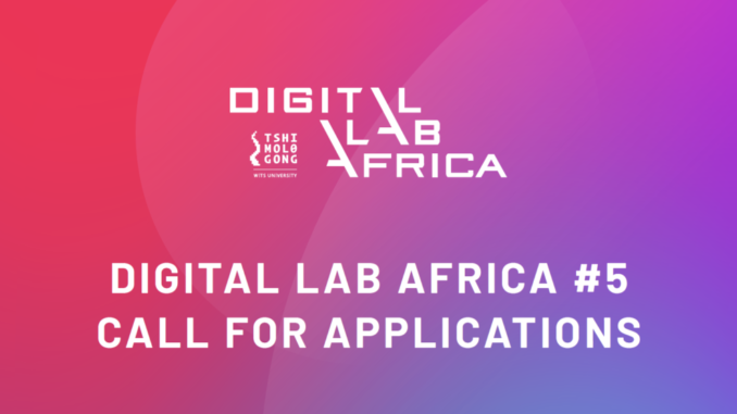 Call for Applications: Digital Lab Africa 2021 for African Creatives