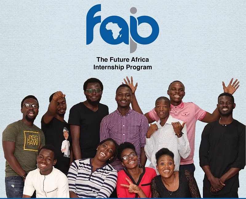 Apply for the Future Africa Internship Program 2021