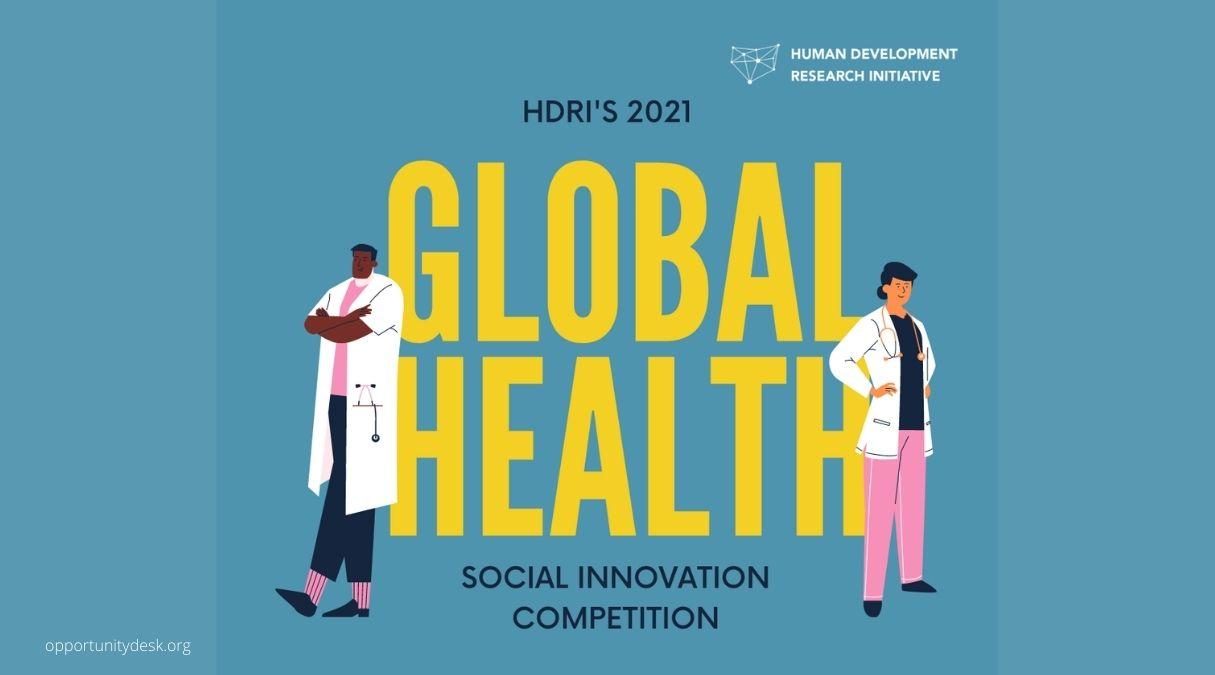 Human Development Research Initiative (HDRI) Social Innovation Competition 2021