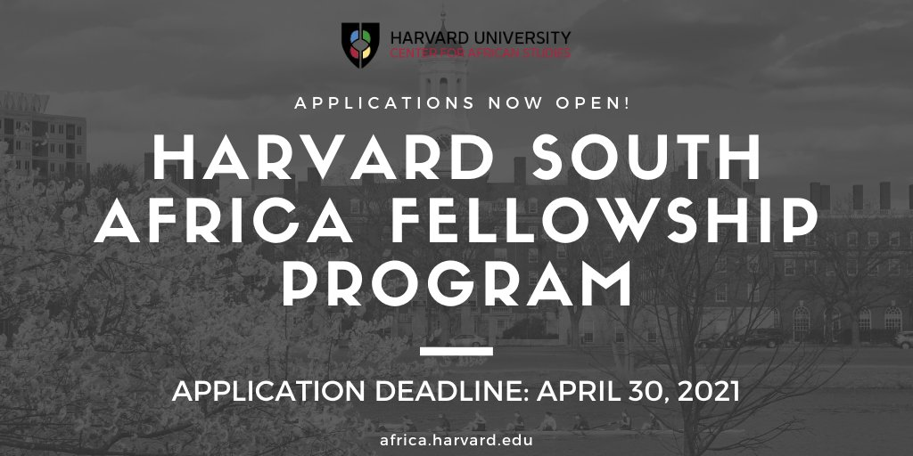 Harvard South Africa Fellowship Program 2021 for Mid-career Professionals (Funded)