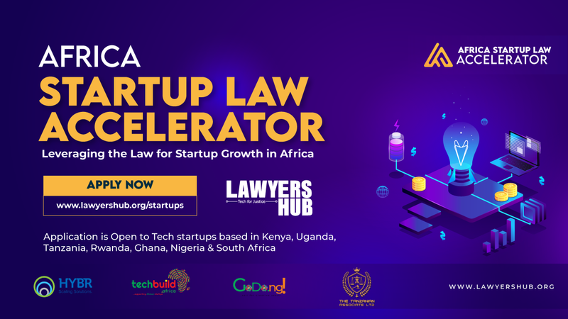 Lawyer Hub Startup Law Accelerator 2021 for African Tech Startups