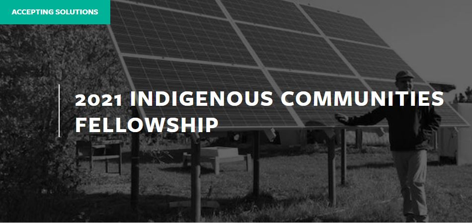 MIT Solve Indigenous Communities Fellowship 2021 for Innovators in the U.S.