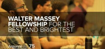 Walter Massey Fellowship 2021 for Outstanding Scientists and Engineers