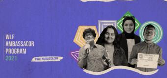 World Literacy Foundation (WLF) Ambassador Program 2021 for Young Leaders worldwide