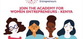 Call for Applications: Academy for Women Entrepreneurs (AWE) Kenya Cohort 3