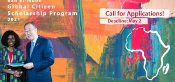Ban Ki-moon Global Citizen Scholarship Program 2021 for Young Africans
