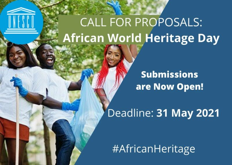 UNESCO Call for East African Youth Proposals: African World Heritage Day 2021