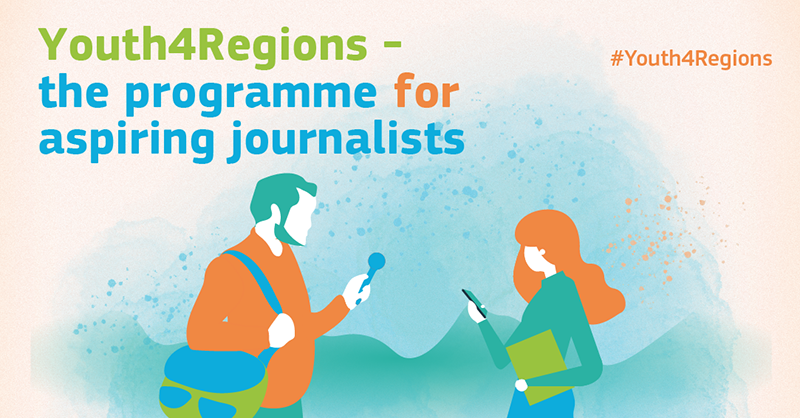 European Commission Youth4Regions Programme 2021 for Students and Young Journalists