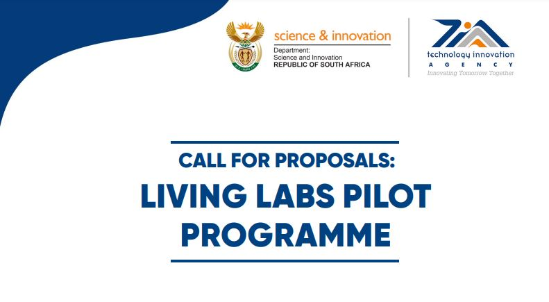 Call For Proposals: Living Labs Pilot Programme 2021 [South Africa Only]