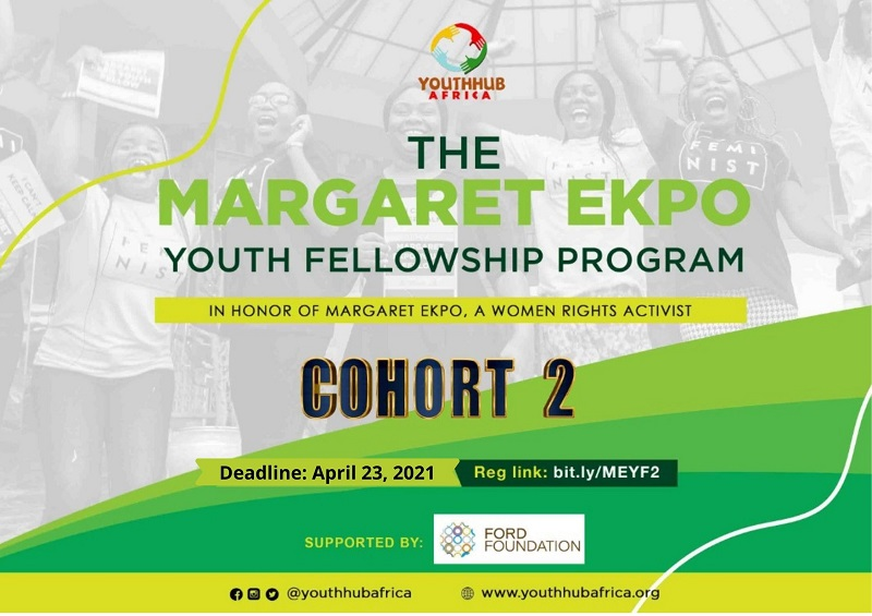 Margaret Ekpo Youth Fellowship Program for Women's Rights 2021 (Cohort 2 )