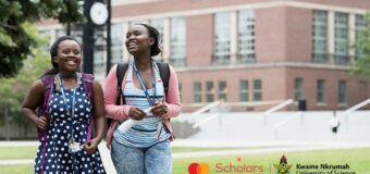 Mastercard Foundation Scholarship 2021/2022 at Kwame Nkrumah University of Science and Technology (Fully-funded)