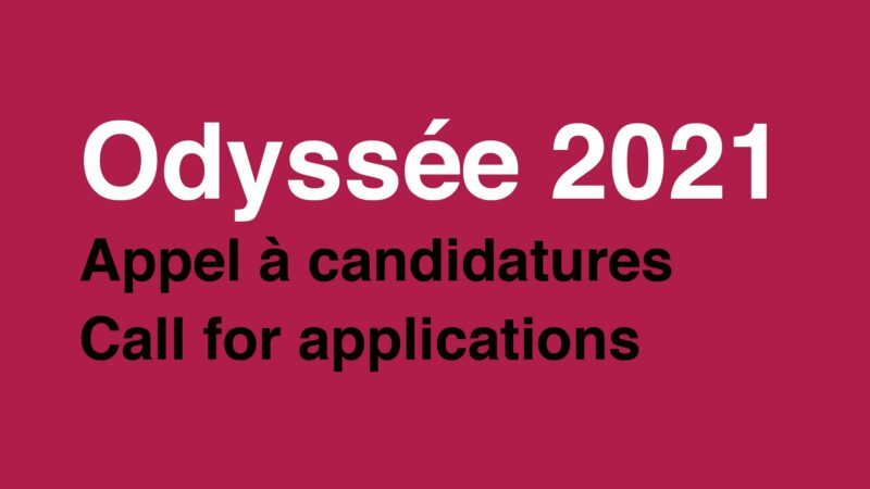 Apply for the Odyssée Artist-in-Residency Program 2021