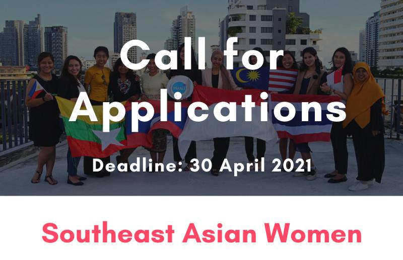 Apply for the YSEALI Southeast Asia Women Program 2021