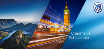 Standard Bank Africa Chairman's Scholarship 2021 for Masters Study in the UK (Fully-funded)