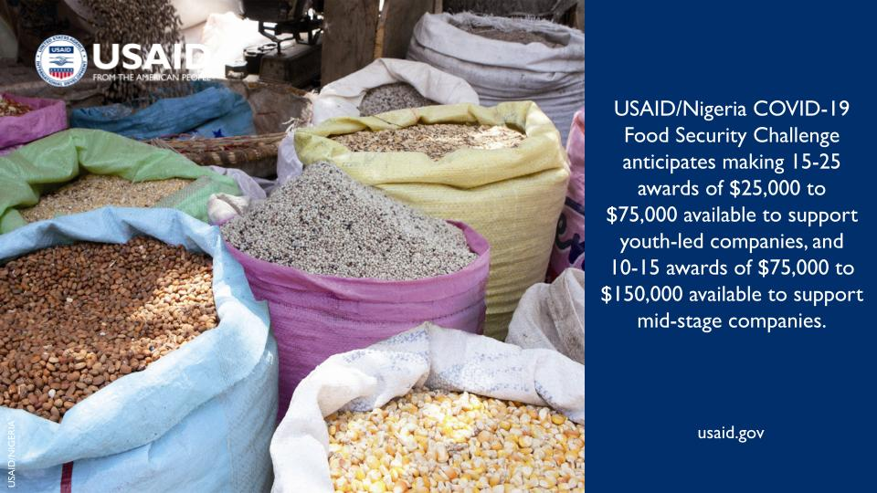 USAID/Nigeria COVID-19 Food Security Challenge 2021 (Funding available)