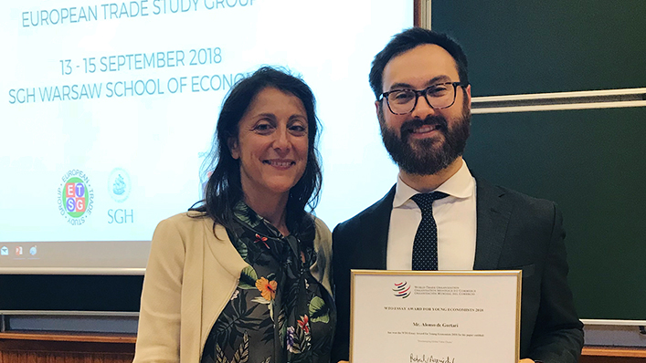 World Trade Organisation (WTO) Essay Award 2021 for Young Economists (CHF 5,000 prize)