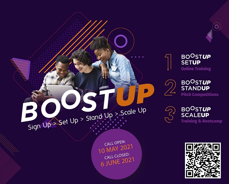 BOOST UP 2021 for Tech Startups in Southern Africa