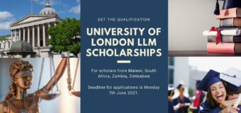 Canon Collins Trust Postgraduate Scholarships 2021/2022 at the University of London [Africans only]
