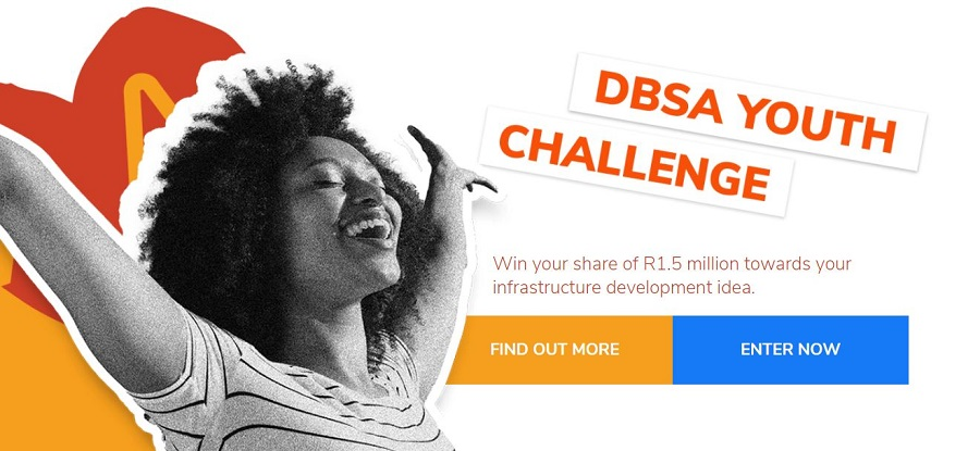 Development Bank of Southern Africa (DBSA) Youth Challenge 2021 (Win a Share of R1.5 million)