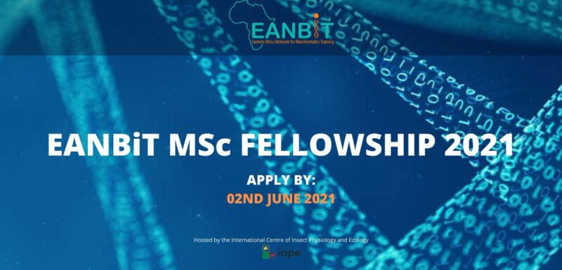 Eastern Africa Network for Bioinformatics Training (EANBiT) Masters In Bioinformatics 2021/2022