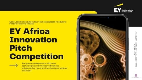 EY Africa Innovation Pitch Competition 2021 (Up to $10,000 USD)