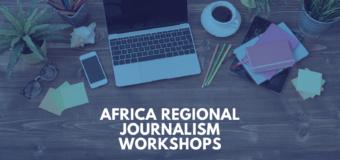 International Center For Journalists (ICFJ) Africa Regional Journalism Workshops 2021