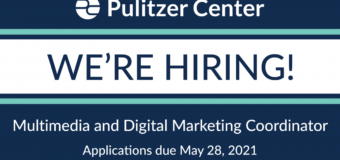 Pulitzer Center is hiring a Multimedia and Digital Marketing Coordinator