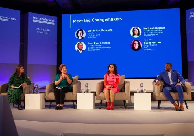 Thomson Reuters Foundation Trust Conference Changemakers Program 2021