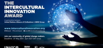 UNAOC/BMW Group Intercultural Innovation Award 2021 (Up to $200,000)