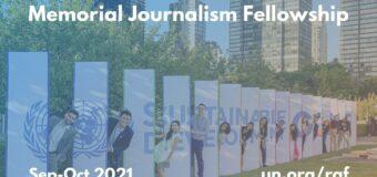 United Nations Reham al-Farra Memorial Journalism Fellowship 2021
