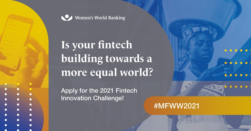 Women's World Banking Fintech Innovation Challenge 2021