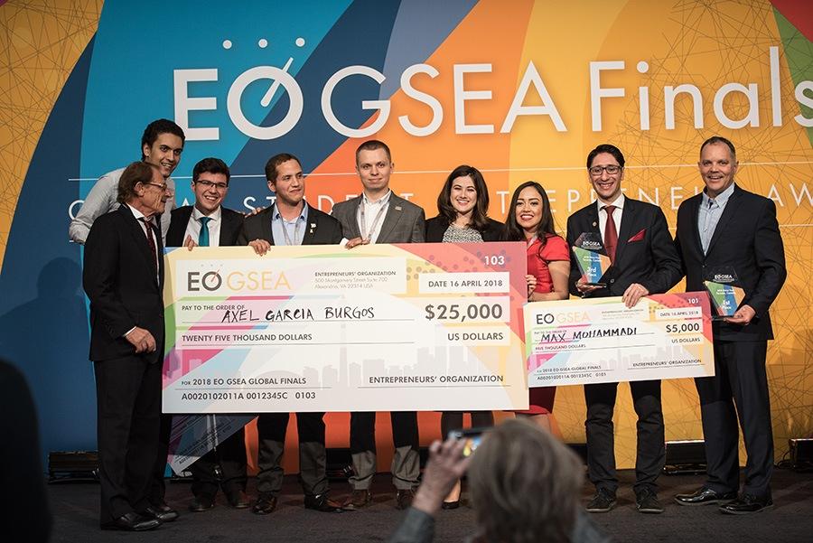 Entrepreneurs' Organization Global Student Entrepreneur Awards (EO GSEA) 2021/2022