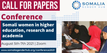 Call for Papers: Somalia Gender Hub Conference for Female Researchers 2021