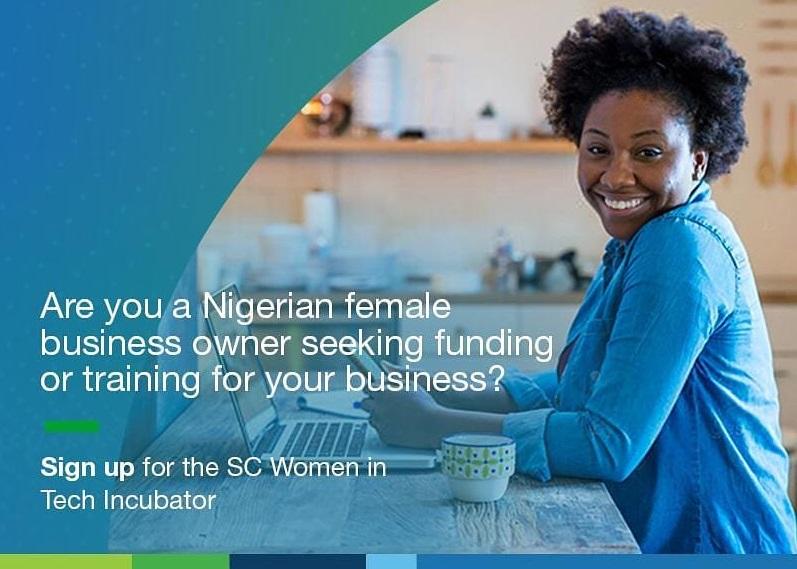 Standard Chartered Women in Tech Incubator (WITI) Program 2021 for Nigerian Female Entrepreneurs