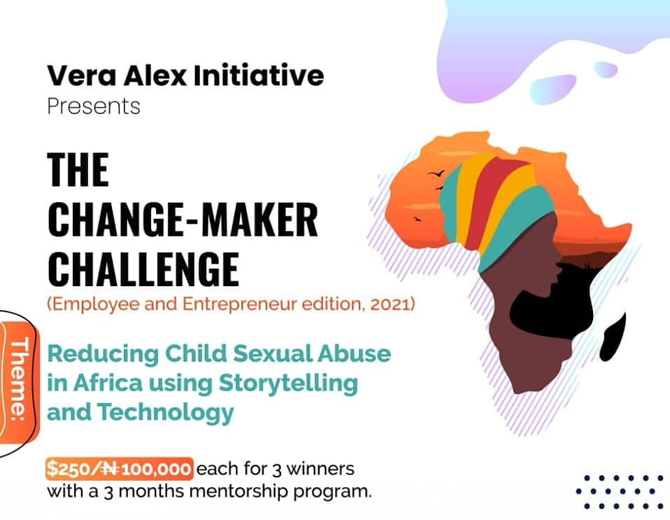Vera Alex Initiative Grants for Changemakers 2021 (Up to N100,000)