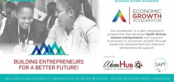 WomHub Economic Growth Accelerator 2021 for South African Women Entrepreneurs