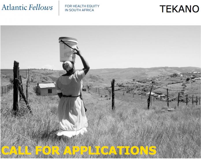 Atlantic Fellows for Health Equity in South Africa (AFHESA) Fellowship Program 2022